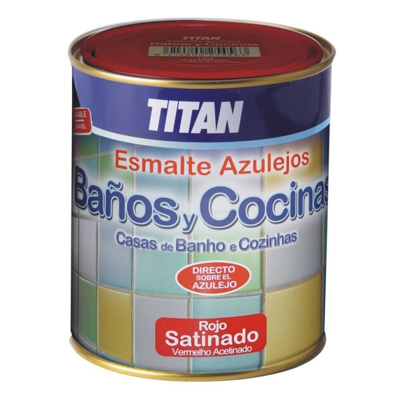 Esmalte para azulejos ba os y cocinas titan multipinturas - Esmaltes para azulejos ...