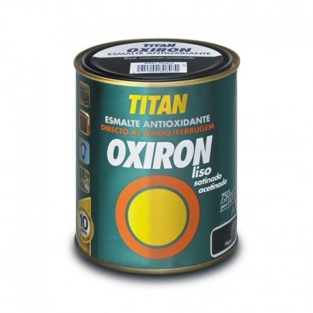 Esmalte Antioxidante Oxiron Liso Satinado Titan