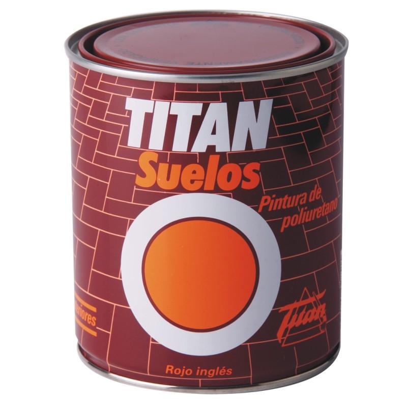 Titan rojo suelos multipinturas - Titan antihumedad ...