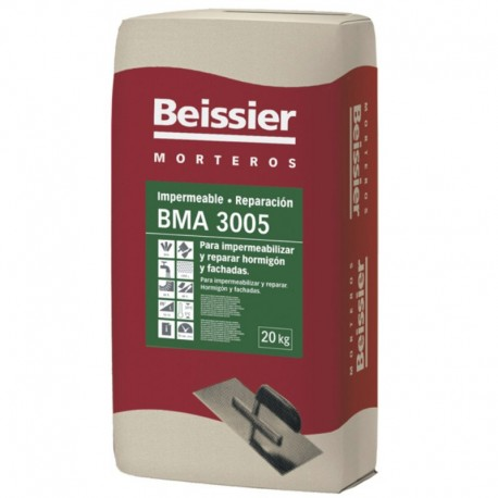 Mortero Impermeable Reparacion BMA 3005 Beissier