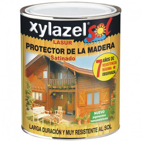 Lasur Protector Satinado Larga Duracion Xylazel Sol