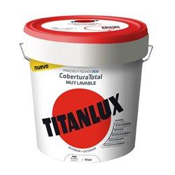 Pintura Plastica Mate Titanlux Cobertura Total