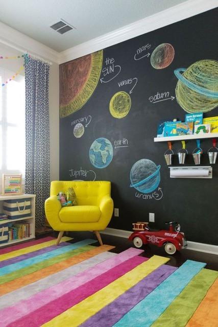 ¿Cómo pintar un cuarto infantil?