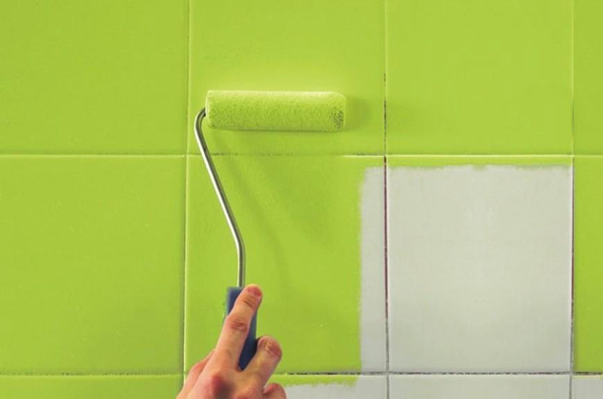 Pintura para azulejos. Renueva tu baño o cocina paso a paso.