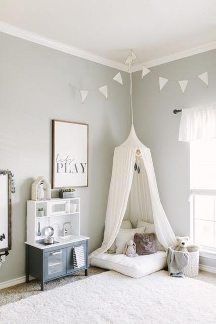 Cómo pintar un cuarto infantil?