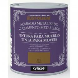 Pintura Muebles Acabado Metalizado Xylazel Rust-Oleum