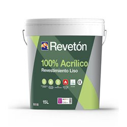 Revestimiento Fachadas Mate Reveton Liso 100% Acrilico